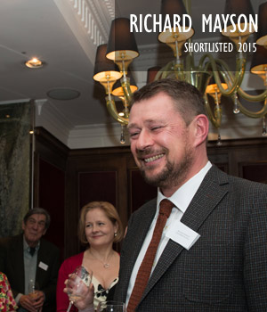 Richard Mayson - shortlisted 2015