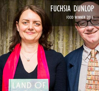 Fuchsia Dunlop, Food Winner 2016