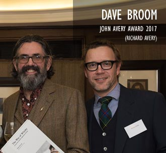 Dave Broom, John Avery Award 2017