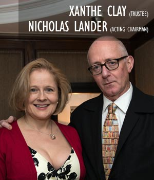 Xanthe Clay and Nicholas Lander
